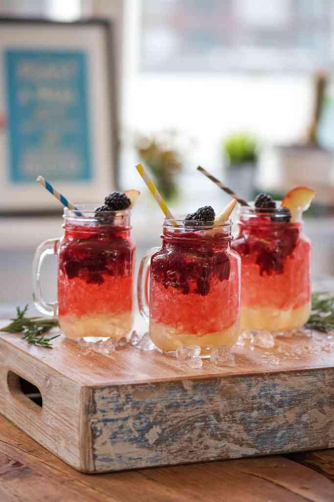 holiday drinks-rosemary-blackberry-mocktail-HelloFresh