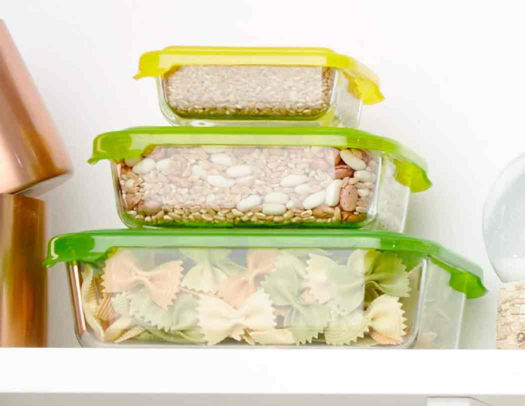 cooking hacks-HelloFresh-storage containers