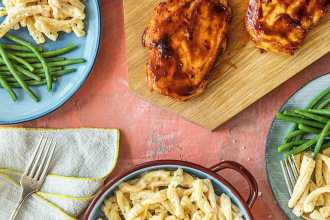 easy chicken recipes for dinner-HelloFresh-bbq