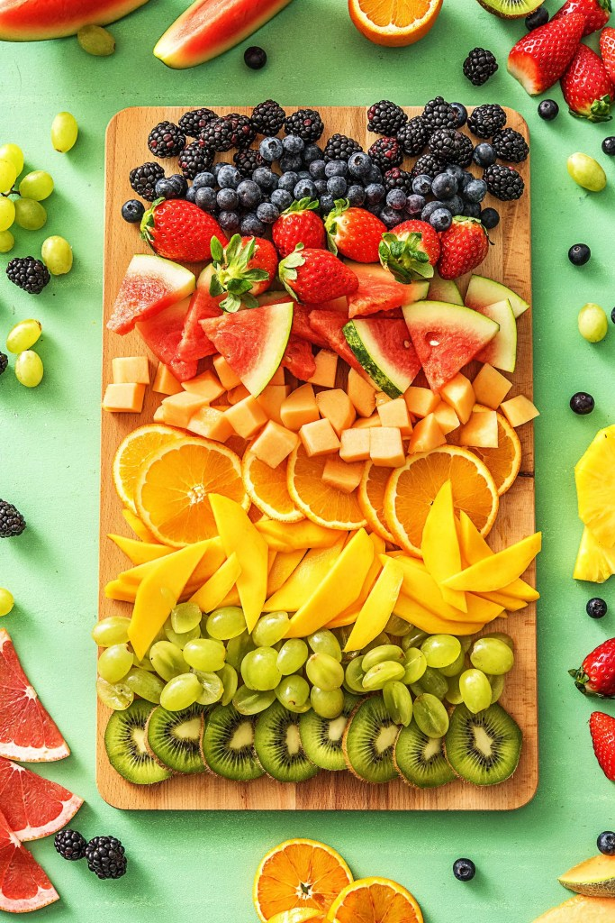 healthy dessert recipes-fruit-platter-HelloFresh