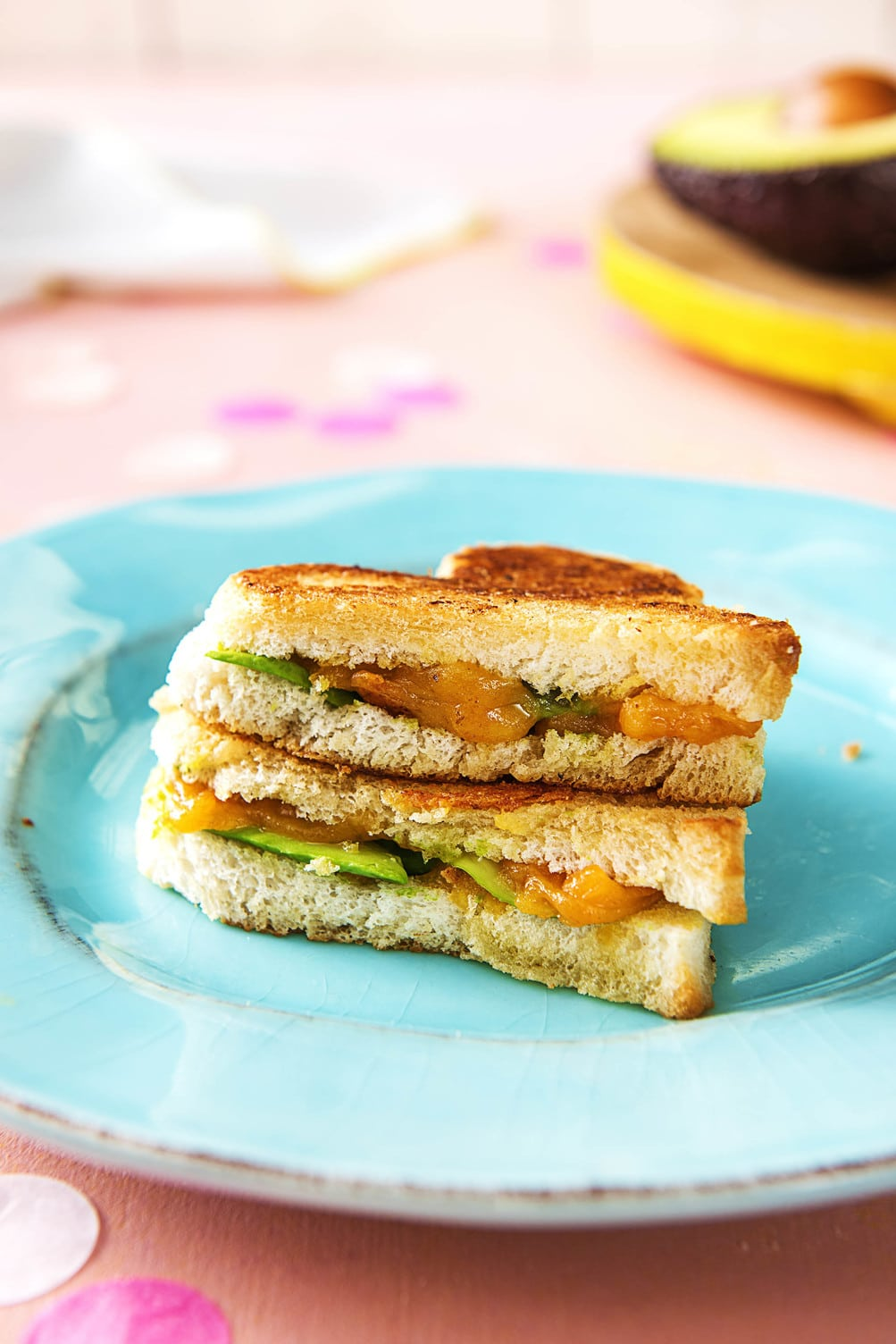 valentine's day breakfast ideas-HelloFresh-sandwich