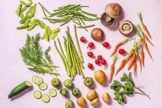 The Zodiac Signs As Spring Veggies & Herbs
