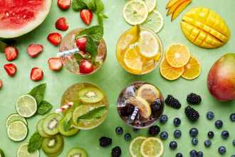 4 Colorful White Wine Spritzer Combos For Summer