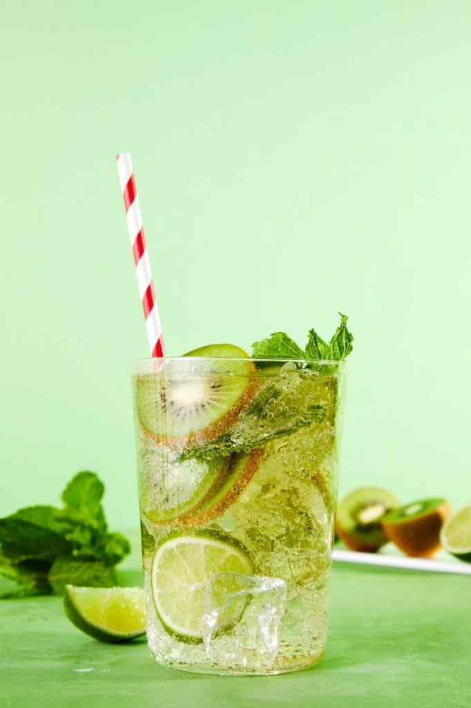 White Wine Spritzer-HelloFresh-Kiwi-Mint-Lime