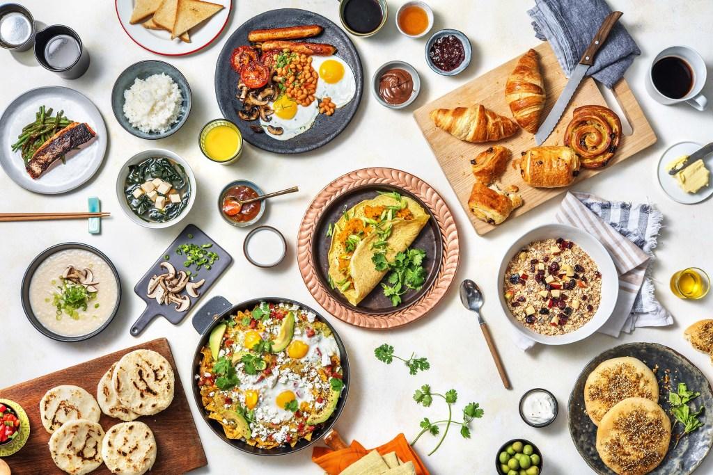 breakfast around the world-HelloFresh