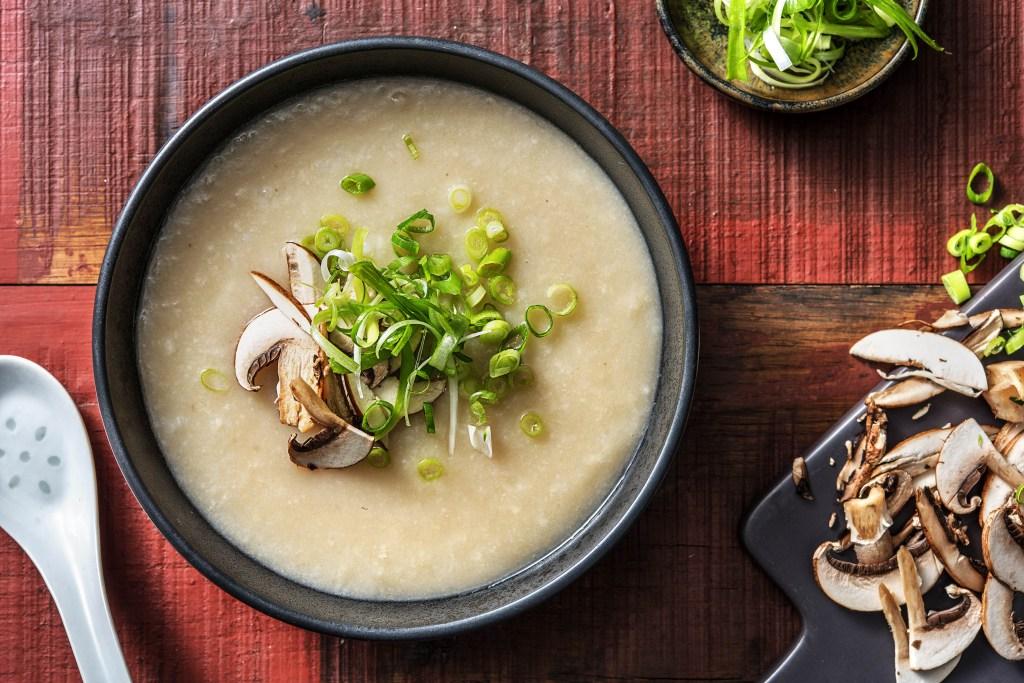 breakfast around the world-HelloFresh-china-congee