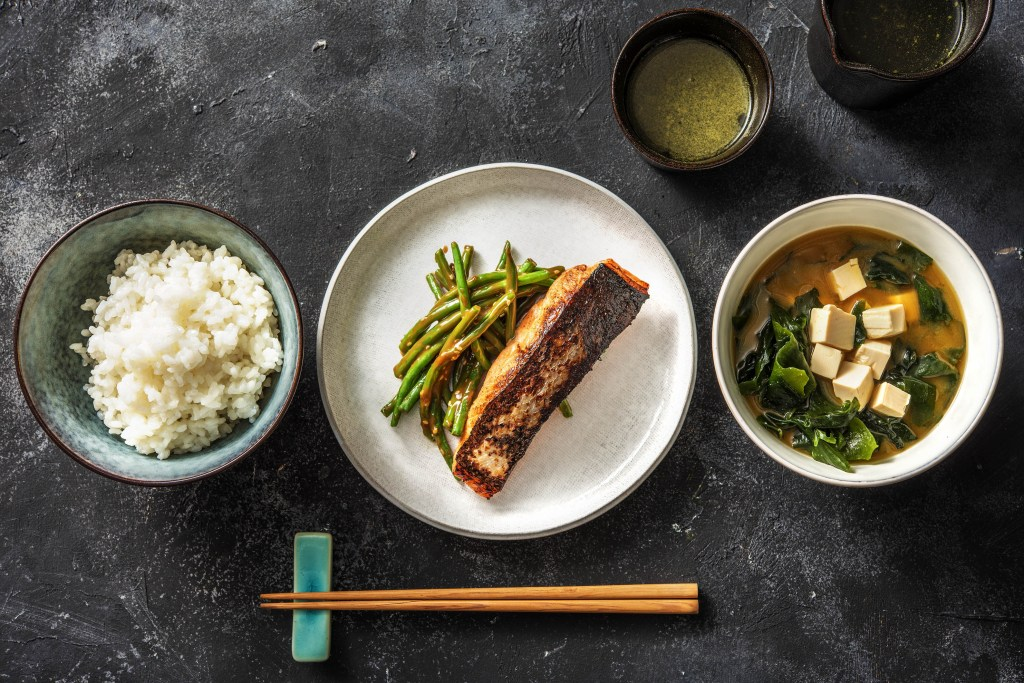 breakfast around the world-HelloFresh-Japan-rice-miso-soup