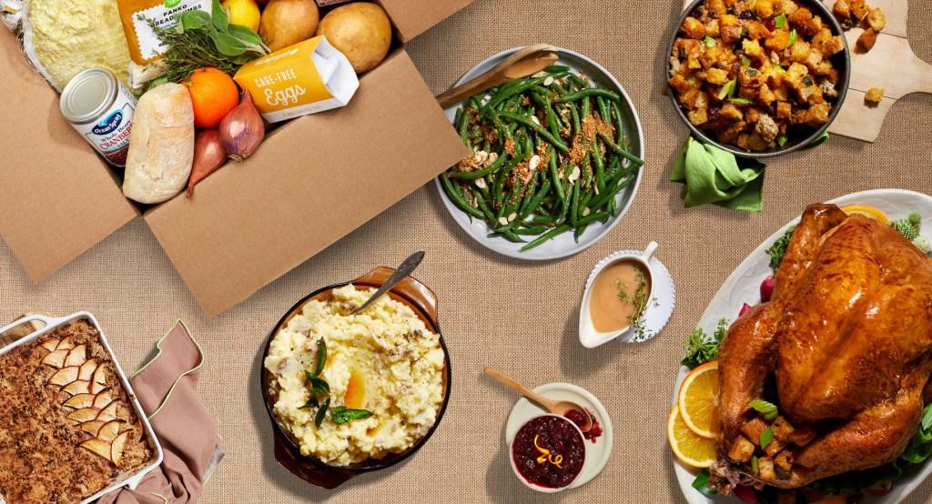 turkey day-HelloFresh-Thanksgiving Box