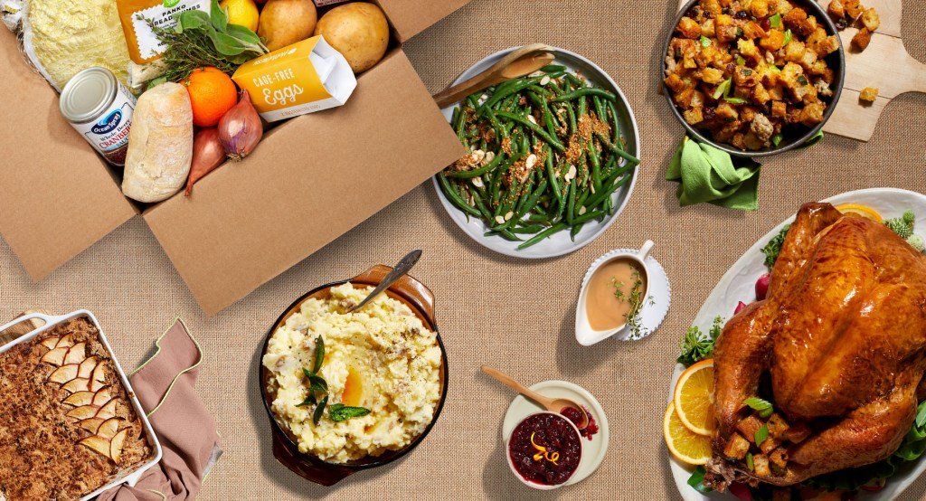 turkey day-HelloFresh-Thanksgiving Box