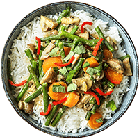 Gelbes Thai-Curry