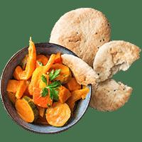 Indisches Tikka Masala-Gemüsecurry