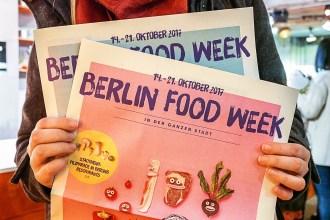 Berlin Food Week 2017 – diese Highlights darfst Du nicht verpassen