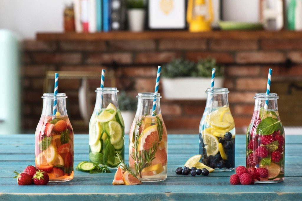 Infused Water anstelle von Limo