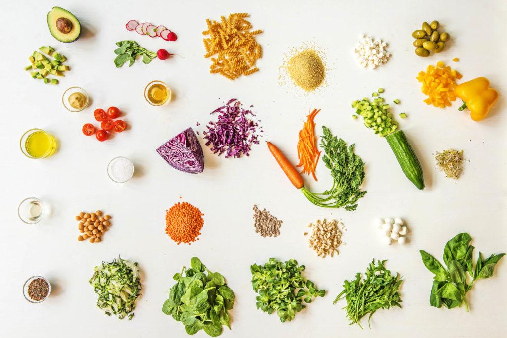 Zutaten fürs Meal Prep