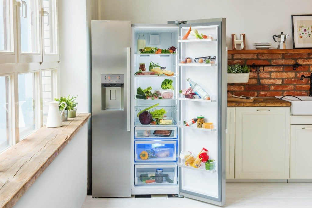 Der ungeordnete Kühlschrank