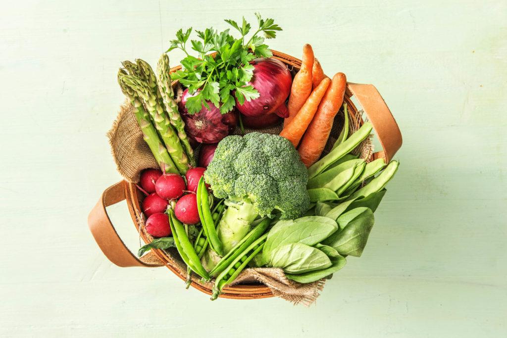 Gemüse zum Einfrieren kaufen