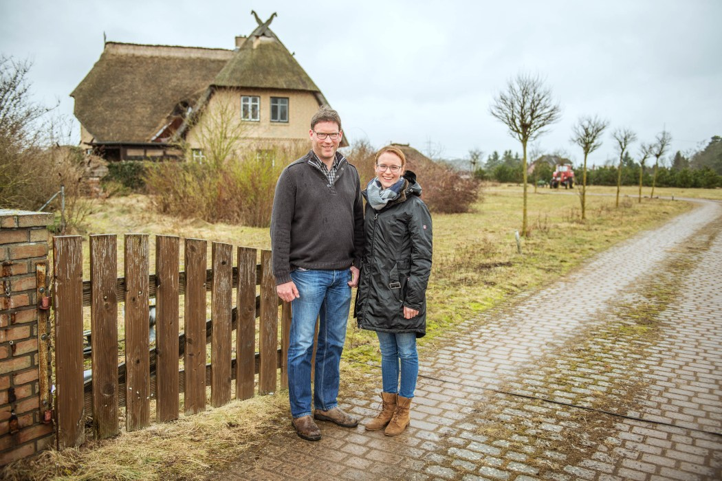 Sukower Welsfarm: Christian und Catharina