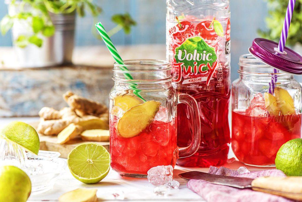Unsere Volvic Cocktails ohne Alkohol