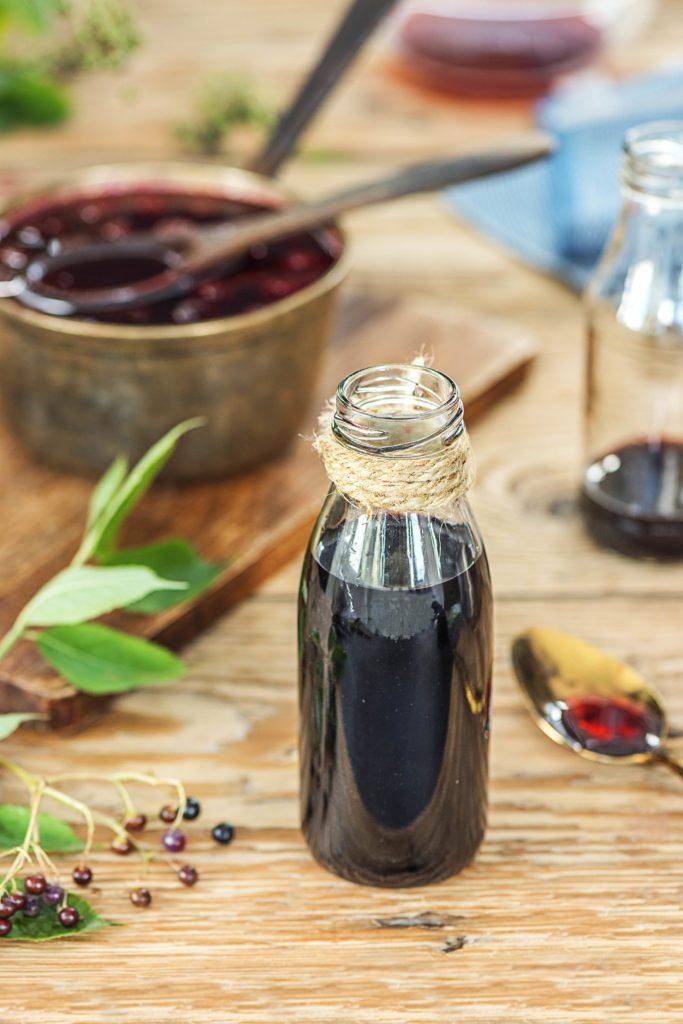 Holunderbeerensirup selber machen – so geht's