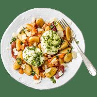 Italienische Tomaten-Gnocchi-Pfanne