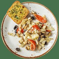 Mediterranen Gemüseauflauf