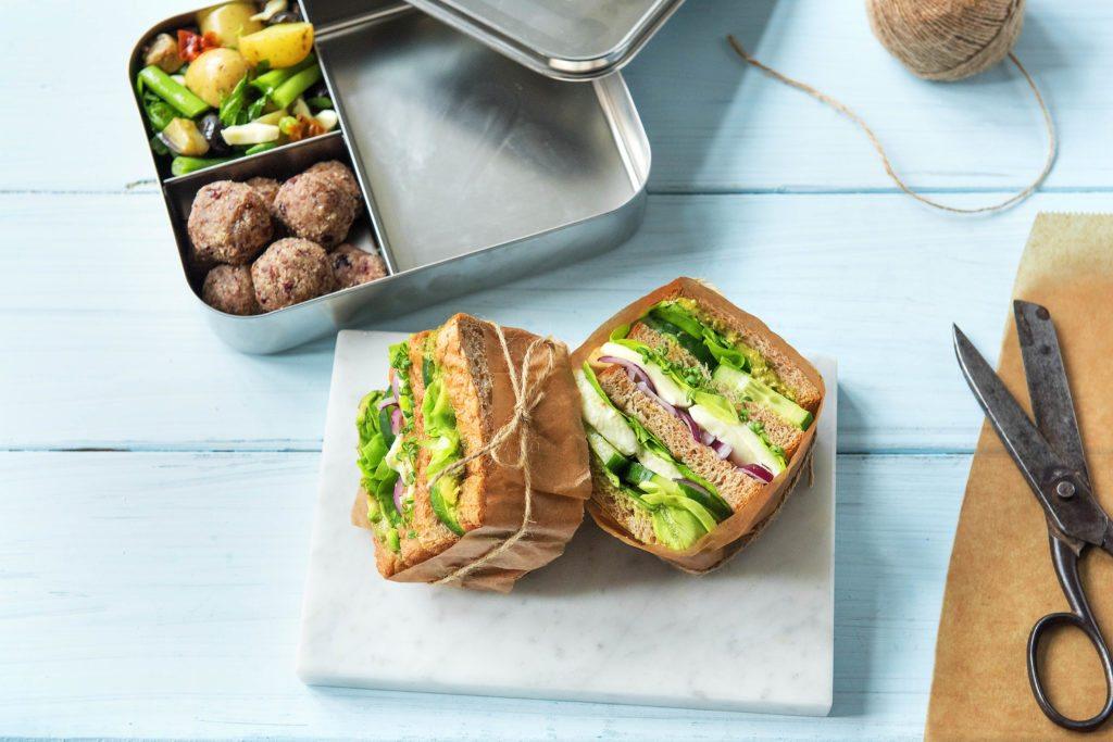 Unser Avocado-Mozzarella-Kresse-Sandwich