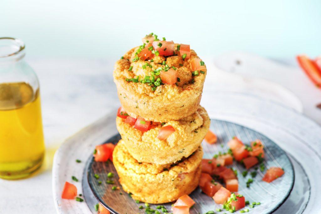 Brunch Rezepte - Vegetarische Muffins