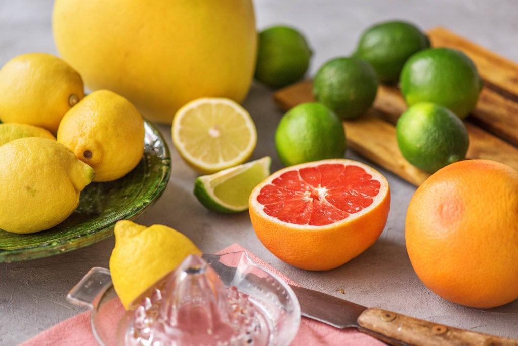 Zitrusfrüchte haben eine kühlende Wirkung
