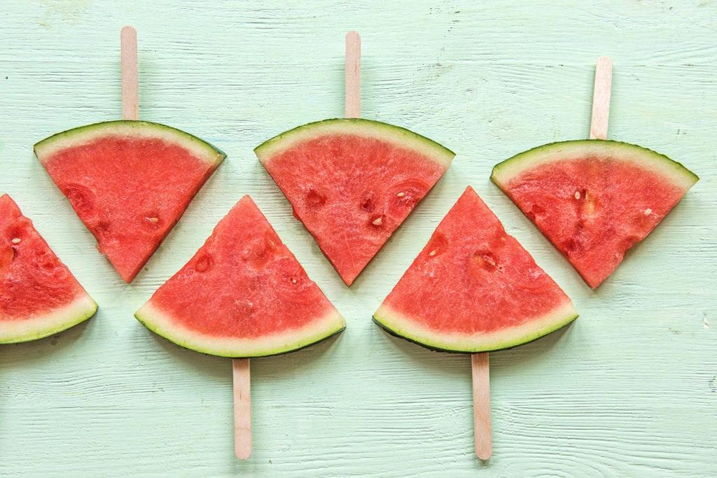 Wassermelone ist ein toller Eisersatz