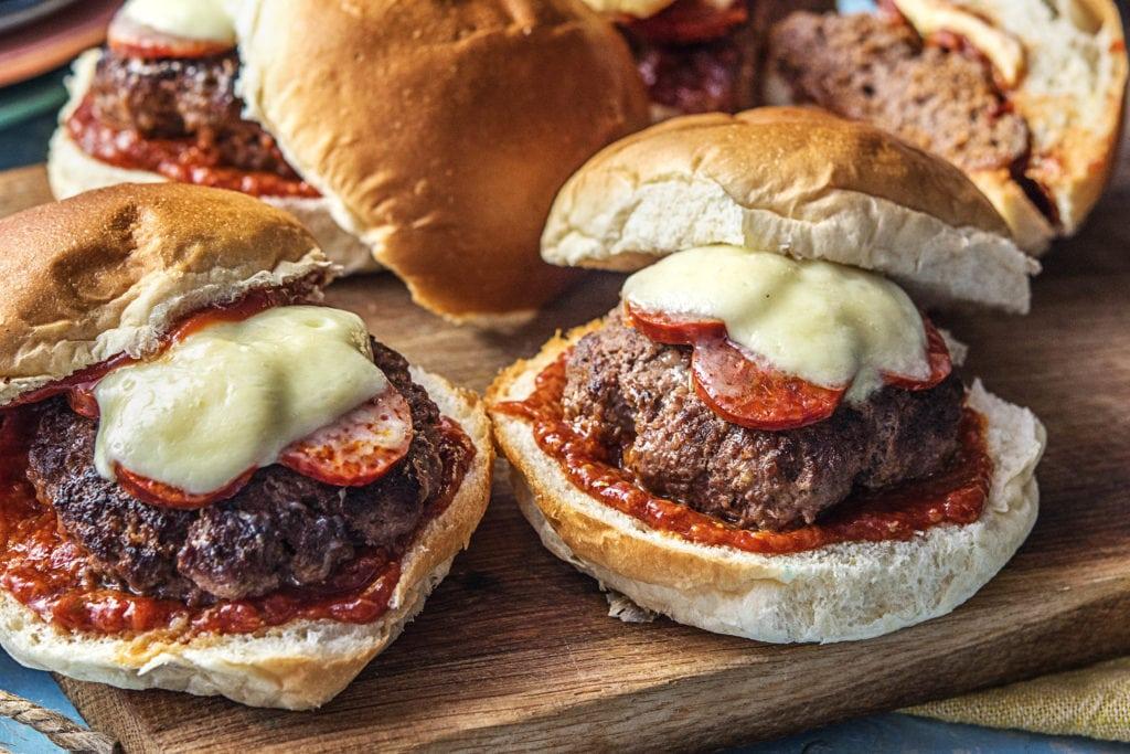 Burger - als Snack nicht geeignet