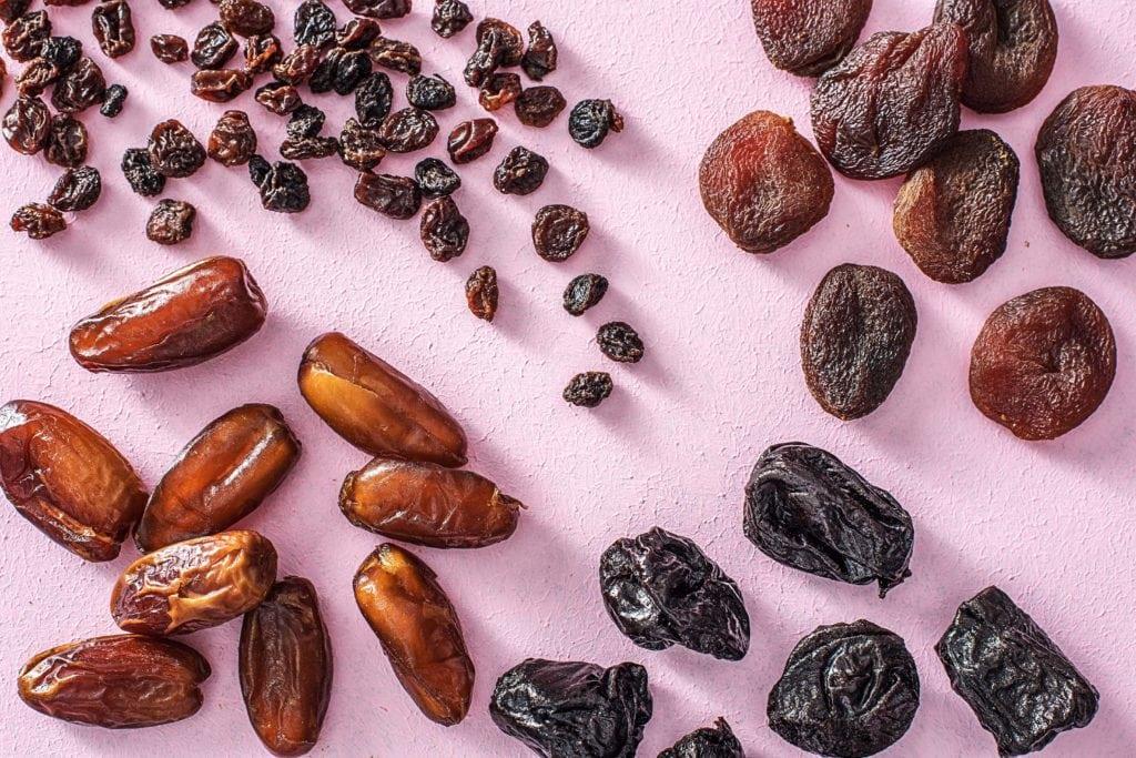Trockenfrüchte sind mit die natürlichste Süße