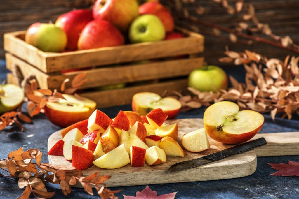 Die eigene Ernte eignet sich perfekt für Apfelsaft