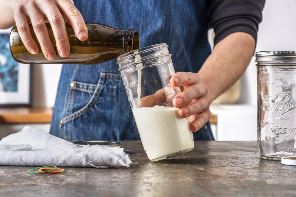 Kefirherstellung - Step 2