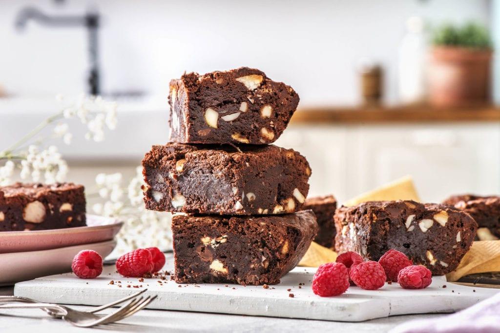 Schmecken mit Bananen anstelle Zucker genauso gut: Brownies