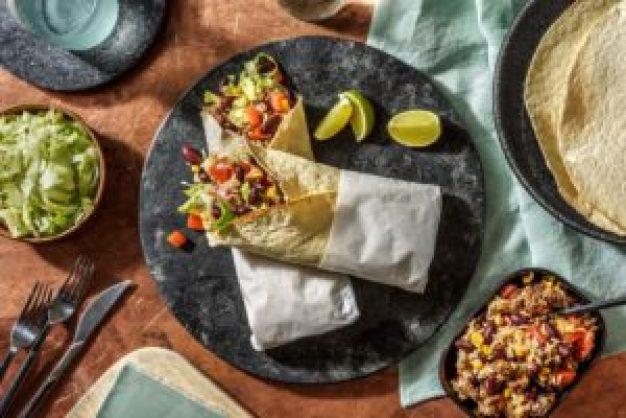 burritos mexicains