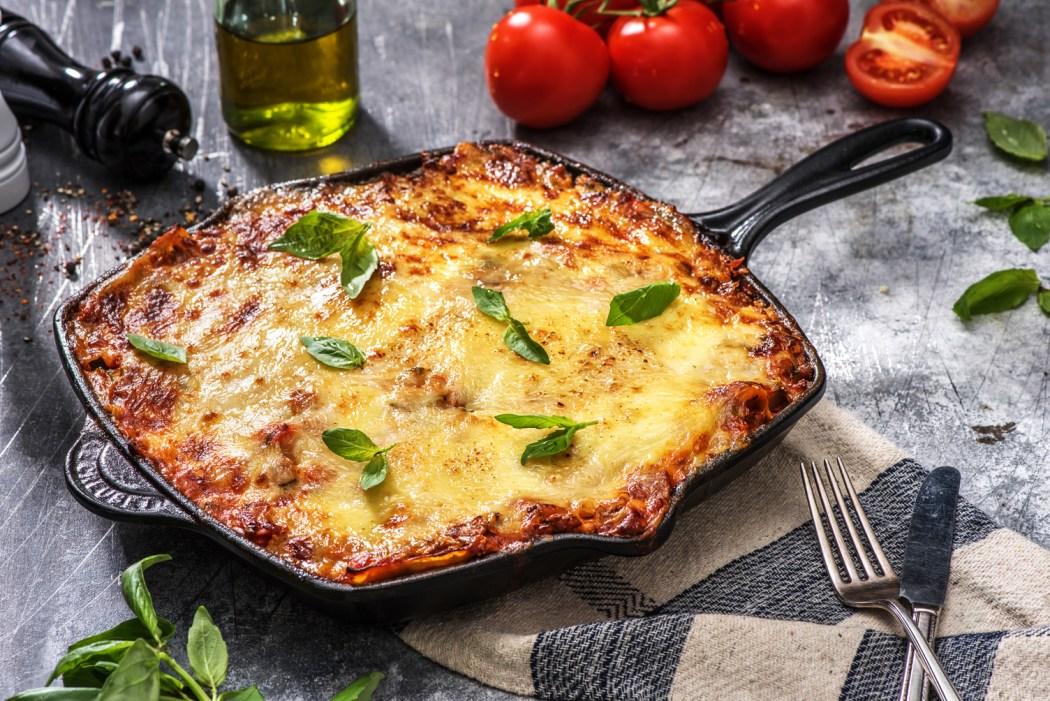 Klassieke vegetarische lasagne