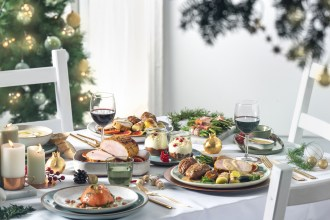 kerst, christmas, table