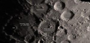 Die Kraterübersäte Südregion