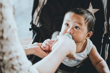 child-drinking