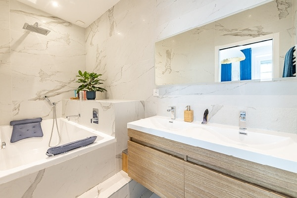 Rénovation complète salle de bain
