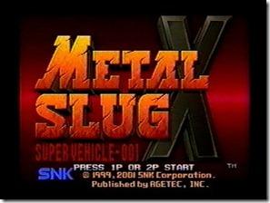 MetalSlugX