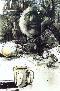 Felix Scheinberger, Illustration