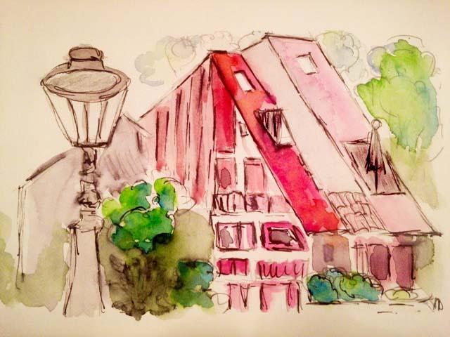 cornelia zeichnung Blog Herz der Kunst