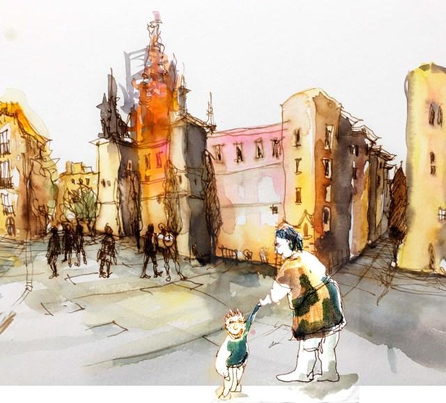 Tine Klein, Menschen Zeichnen