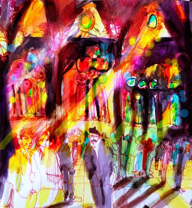 Tine Klein Farbgefühl in der Sagrada Familia
