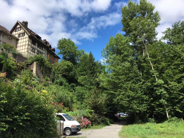 Urban Sketching Malen lernen, Zeichnen lernen , Aquarell, Bremgarten Schweiz