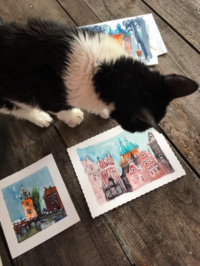 Tine klein die besten Tricks zum malen lernen, traue keinen Kunstkritikern