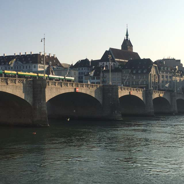 virtuelle Malreise nach Basel mit Tine Klein