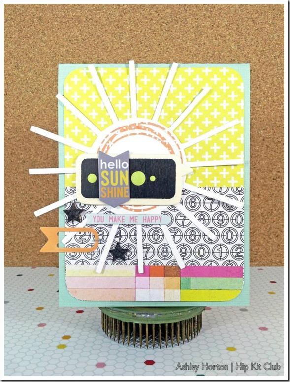 Sun Card 1