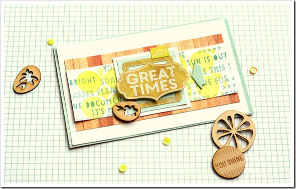 Great Times Card